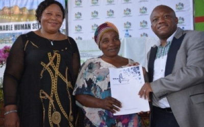 TITLE DEEDS MONTH LAUNCHED  IN MSUNDUZI LOCAL MUNICIPALITY